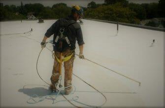 Зачем белить крышу – или несколько слов о профилактических работах на крыше в Израиле