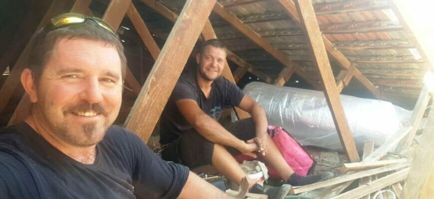 монтаж и гидроизоляция кровли в израиле